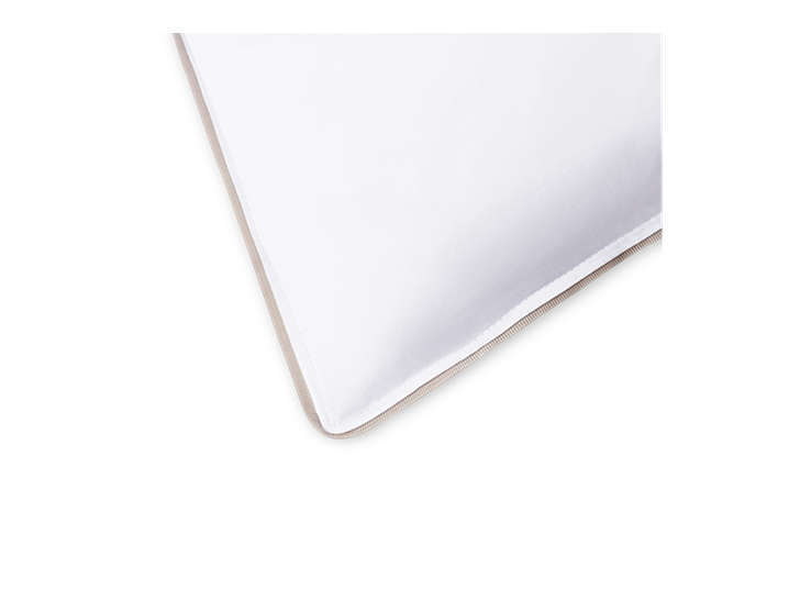 Albertine Pillowcase Grey Oak_Trim