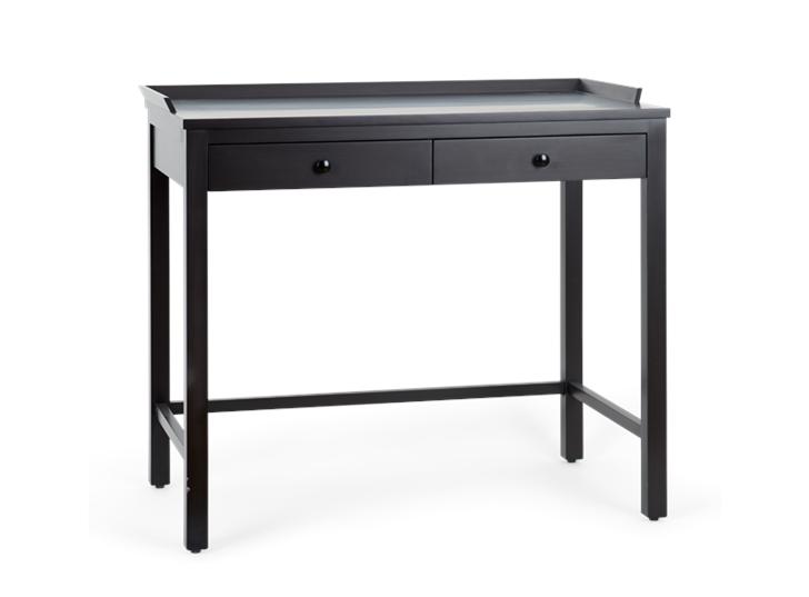 Aldwych dressing table Painted warm black_3quarter