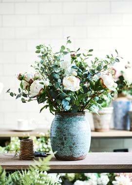 Spring Florals in Broseley Pot