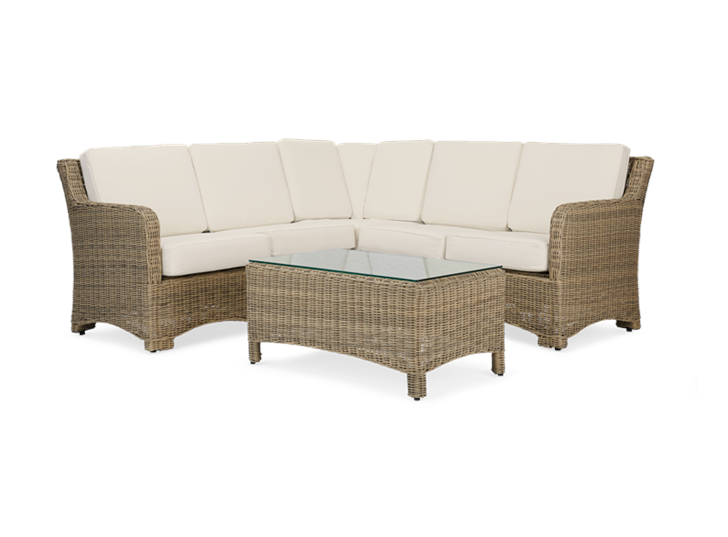Compton Modular 5 Seater Corner Sofa with Coffee Table
