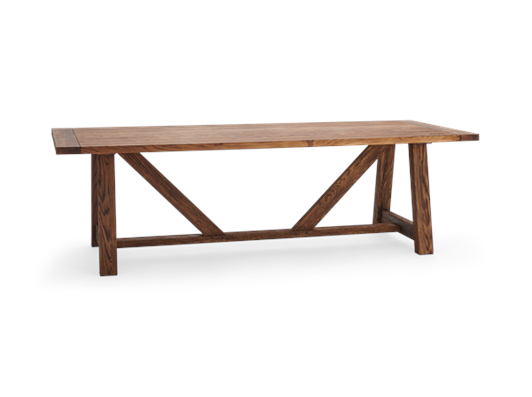 Arundel_245 Table_Darkened Oak_3Quarter