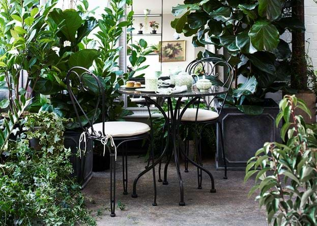 Boscombe Tea for Two Set_Garden Furniture_Conservatory Plants