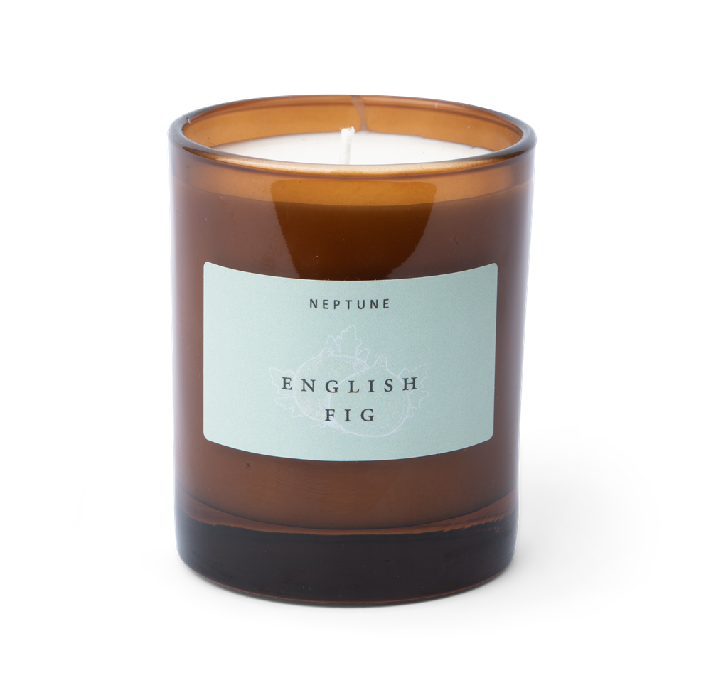 English Fig candle front