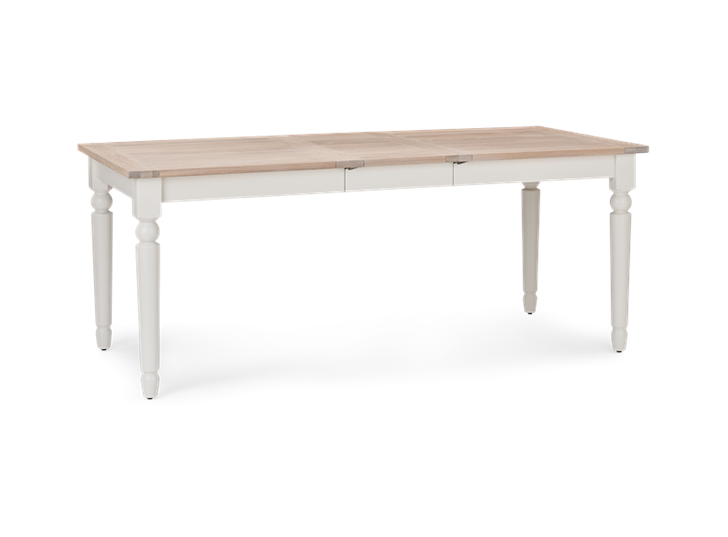 Suffolk 150-230 Extending Table_Silver Birch_3Quarter
