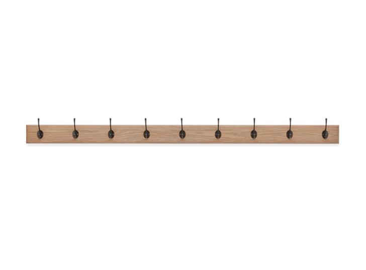 Edinburgh 5ft Coat Rack Front