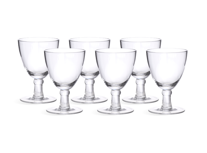 Barnes White Wine Glasses - Set of 6