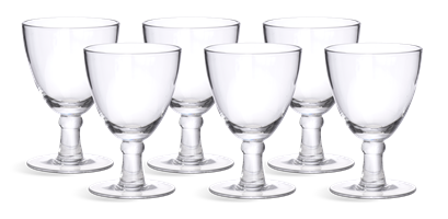 Barnes White Wine Glasses, set of 6