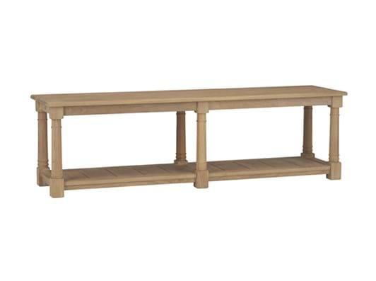 Edinburgh 160cm Bootroom Bench_Vintage Oak_3Quarter