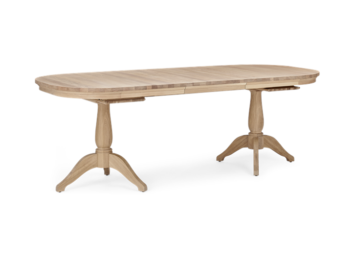 Henley 170-270 Extending Table_Oak_3Quarter