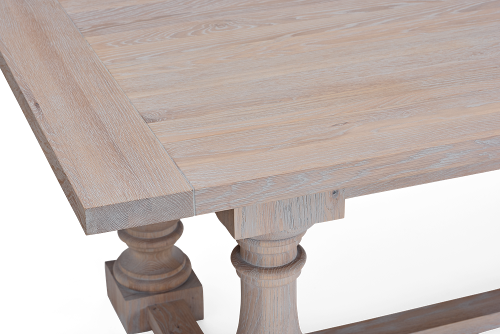 Balmoral 320 Rectangular Table_Seasoned Oak_Detail 5