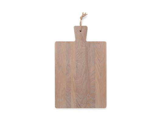 Borough Rectangular Oak Chopping Board Seasoned Oak_Top