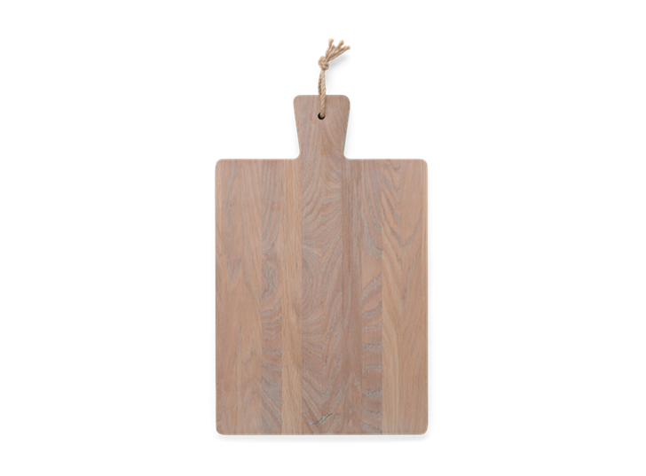 Borough Rectangular Oak Chopping Board Seasoned Oak_Top