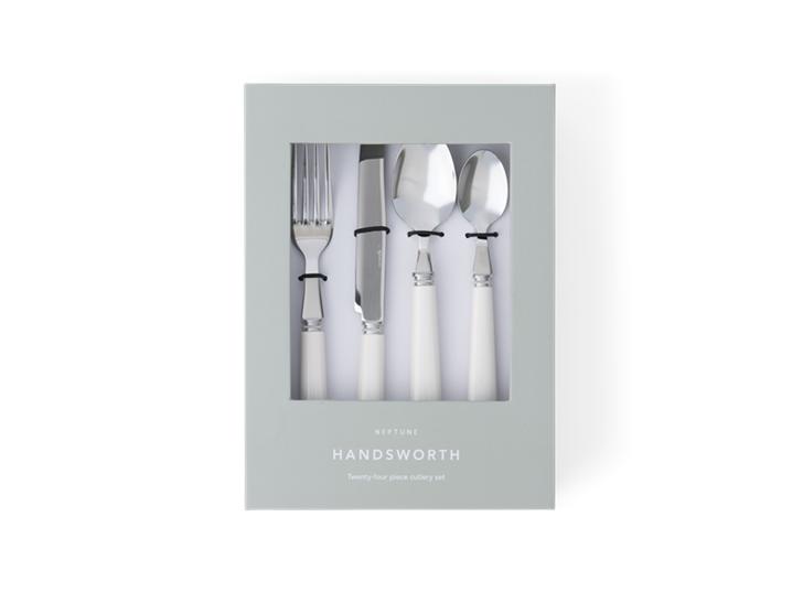 Handsworth cutlery Salt front in box