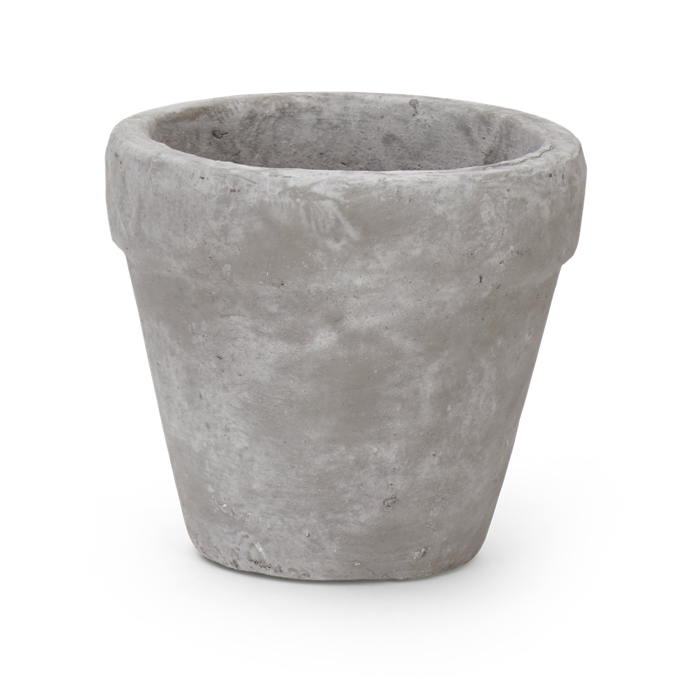 Tarragon Small Pot Pale Cement
