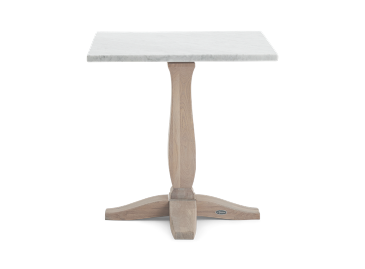 Harrogate 75 Square Table_Marble Top_Front