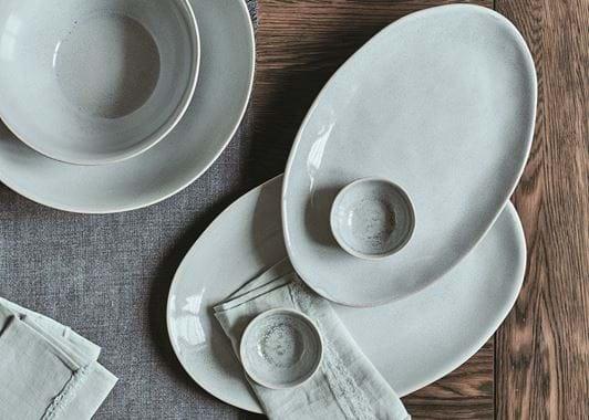 Bretby Oval Platter - Medium