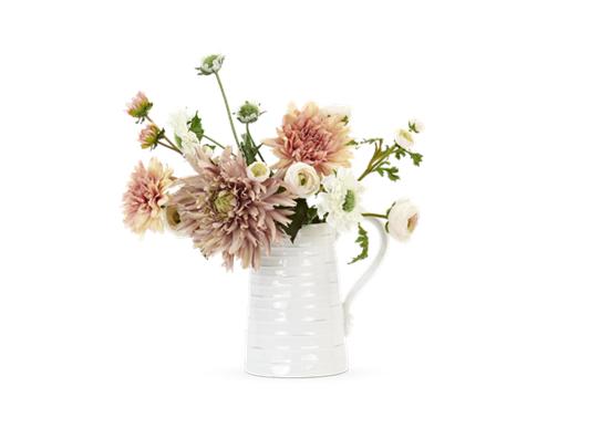 Ranuncula & Dahlia Bouquet with Bowsley tall jug