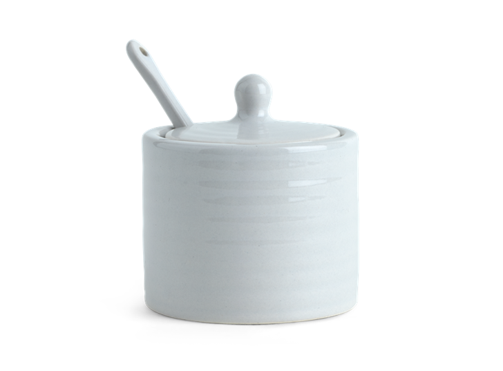 Lewes Spice Pot with Spoon Grey_Front 2