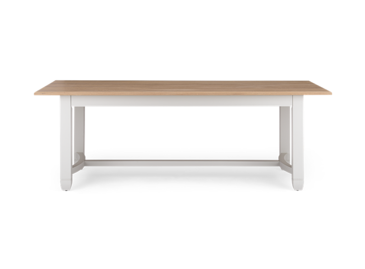 Chichester 220 Rectangular Table_Shingle_Front