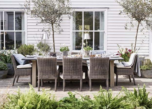 Stanway Bluestone Dining Table with Toulston Dining Chairs_Garden Furniture
