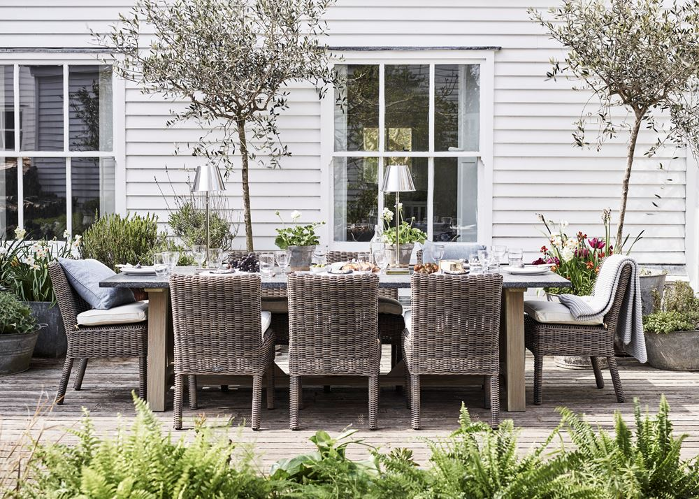 Stanway Bluestone Table with Toulston chairs_Garden Furniture_Outdoor Dining