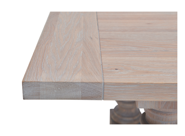 Balmoral 185-275 Extending Table_Seasoned Oak_Detail 5