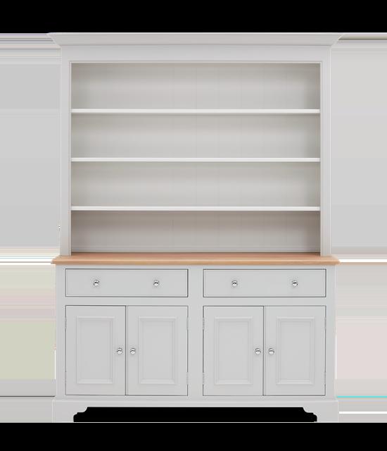 Chichester 5ft Open Rack Dresser Top Front