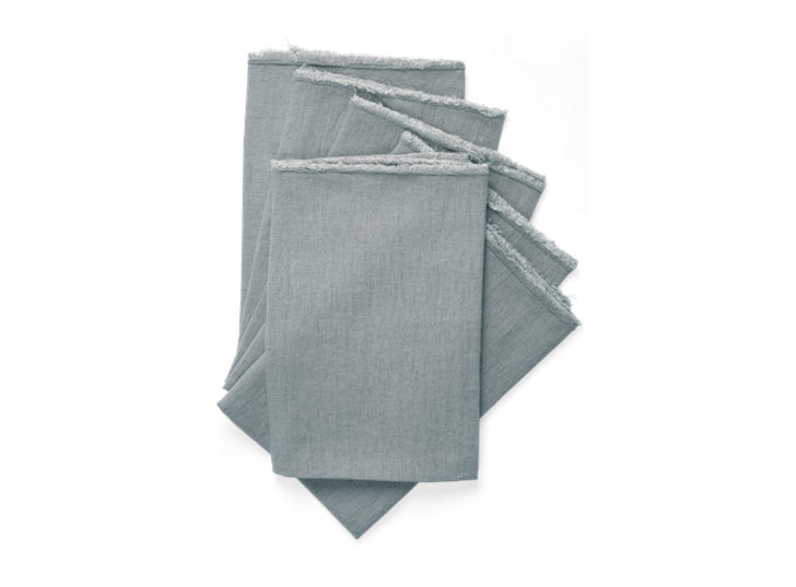 Antonia Napkin Set of 6 PowderBlue_Stack