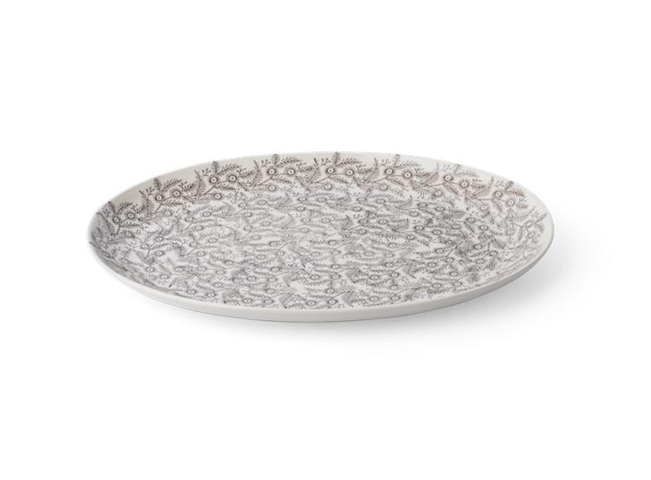 Olney serving platter, Large, Walnut, above _