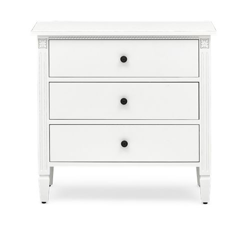 Larsson low chest of drawers front