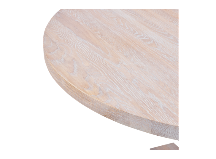 Balmoral 120 Round Table_Seasoned Oak_Detail 4