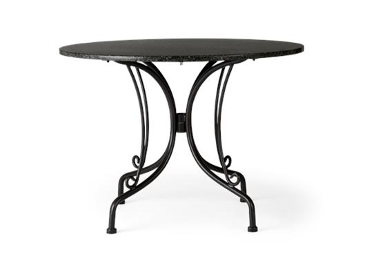 Boscombe 2 Seater Table, Black _ Granite_front