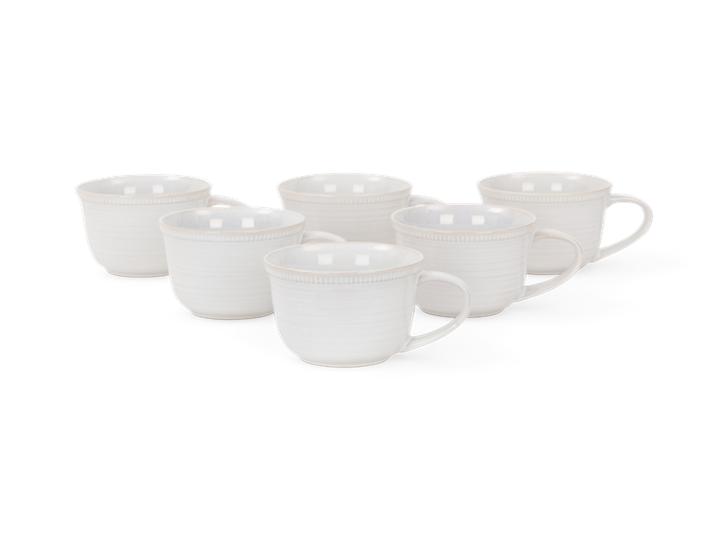 Sutton large mug 480ml, off white, 6 stack copy