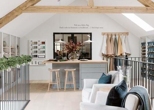 Knutsford store, design studio