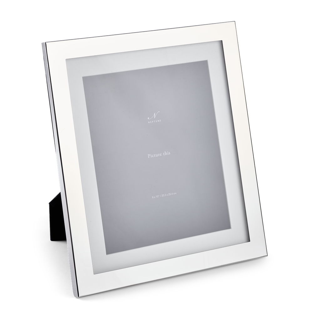 Newton 8x10 Silver Plated Photo Frame 2