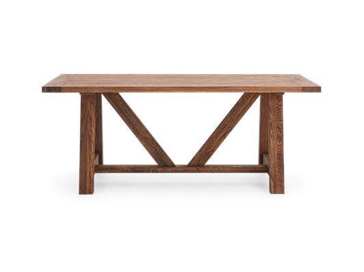 Arundel_184 Table_Darkened Oak_Front