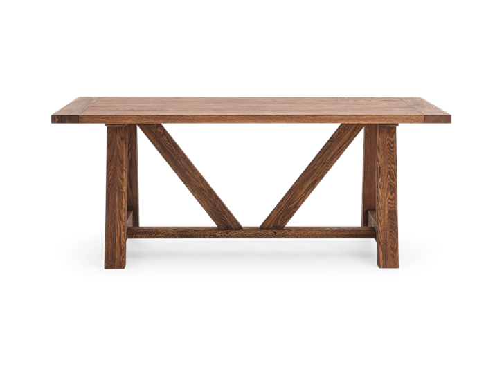Arundel_184 Table_Darkened Oak_Front