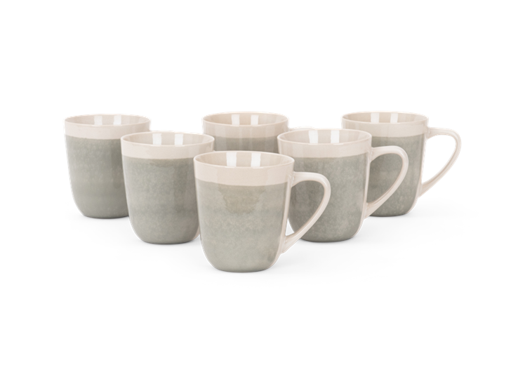 Lulworth mug 370ml, off white, 6 stack-2 copy