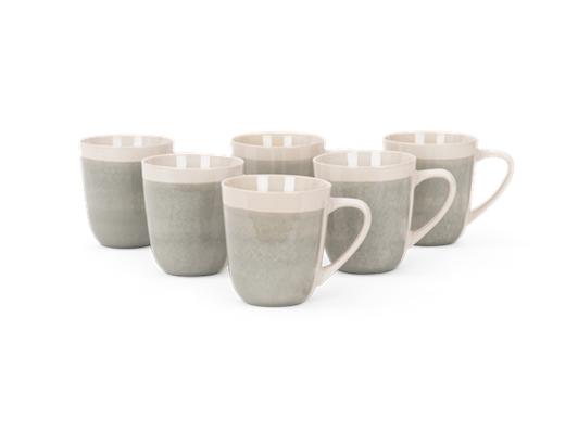 Lulworth mug 370ml, off white, 6 stack-2 copy