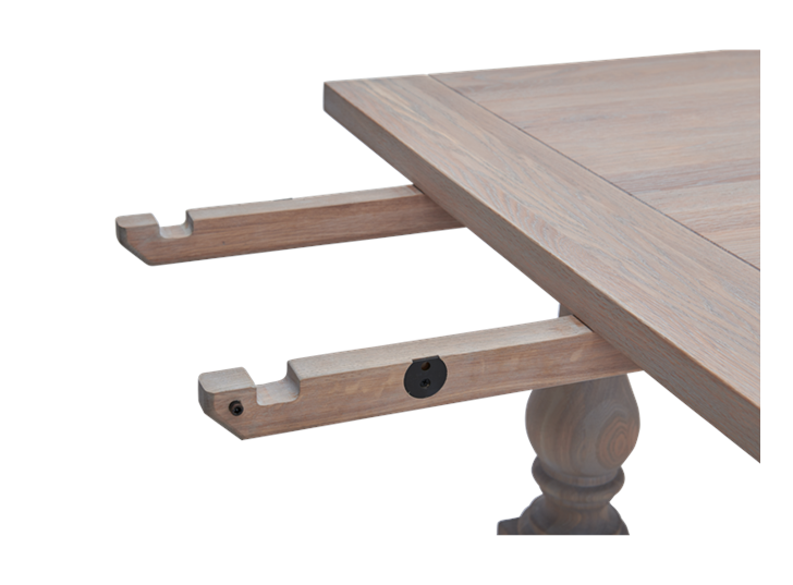 Balmoral 185-275 Extending Table_Seasoned Oak_Detail 3