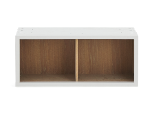 Chawton 38 Top Cabinet - Open - Snow