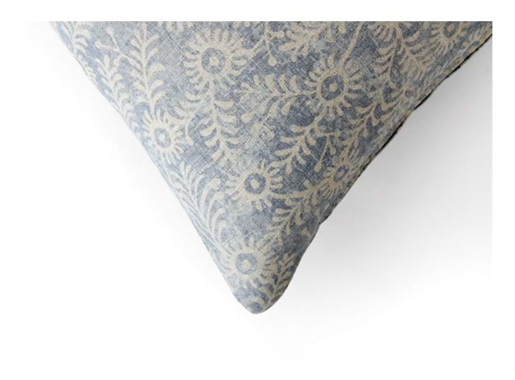 Grace 57x57cm, Orla Flax blue_corner