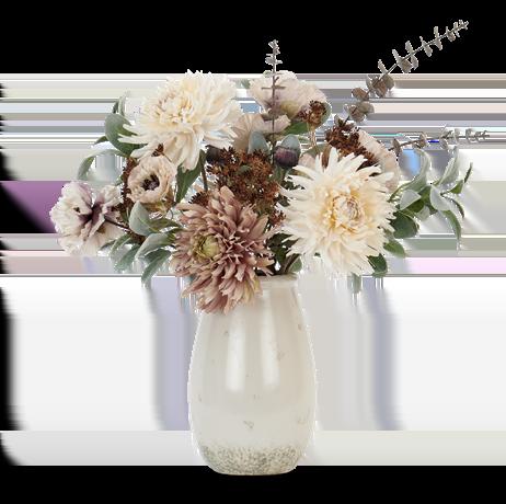 Dahlia & Poppy Bouquet