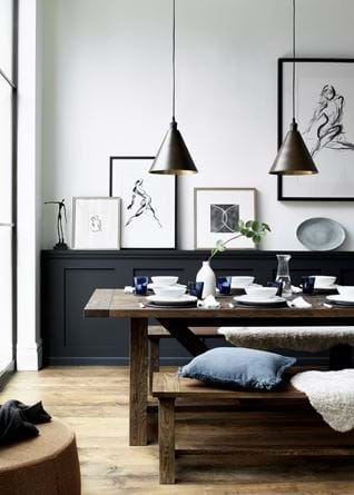 Arundel dining Darkened Oak