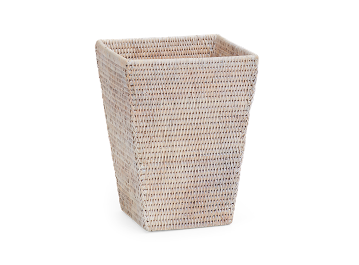 Ashcroft Hand Woven Rattan Waste Paper Basket Neptune