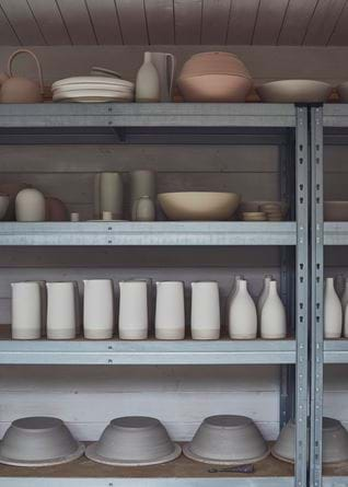 Rebecca Williams Ceramicist Studio