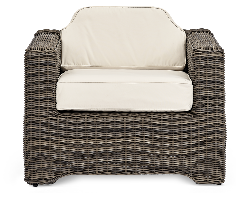 Tresco Sofa Armchair with Oatmeal Cushions