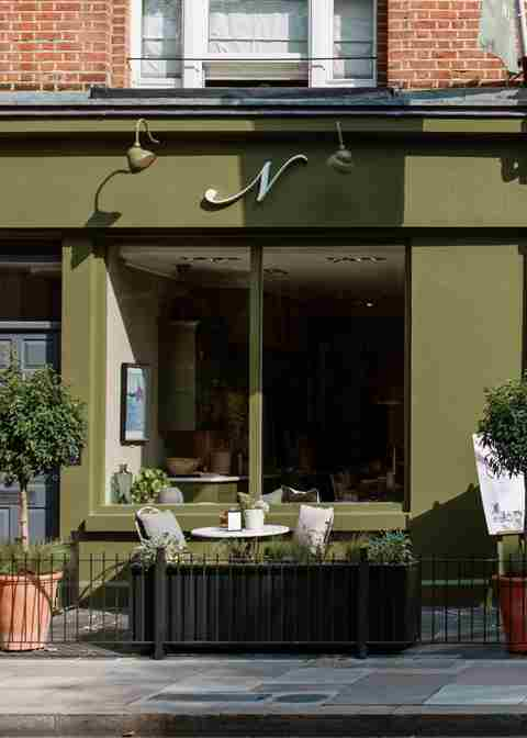 Fulham Store Front_olive