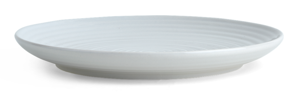Lewes Side Plate Grey_Front