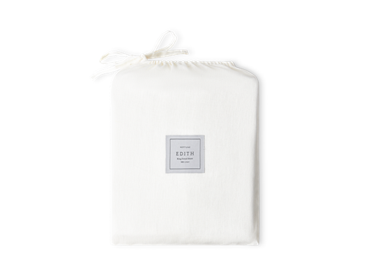 Edith Fitted Sheet King_Front